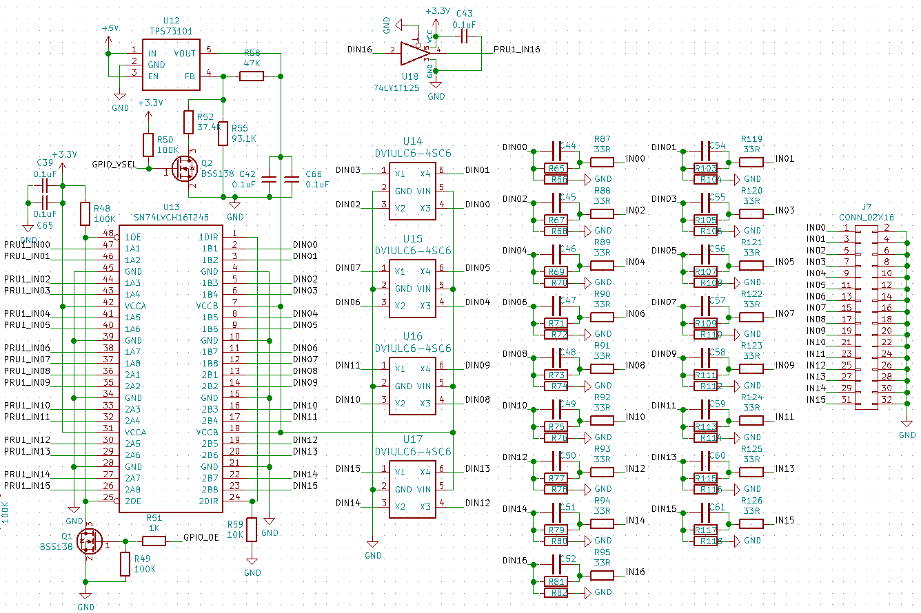 Logic Inputs Beaglelogic Standalone 10 Documentation Analyzer Diagram